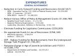 expenditures general government