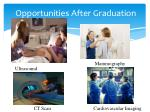 opportunities after graduation