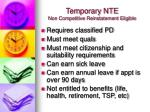 temporary nte non competitive reinstatement eligible1