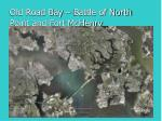 old road bay battle of north point and fort mchenry