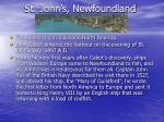 st john s newfoundland
