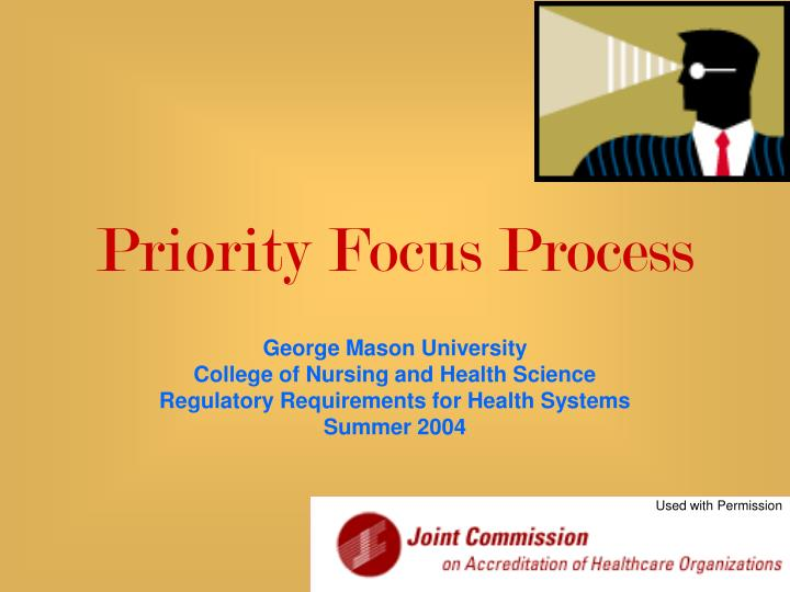 priority focus process n.