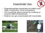 insecticide use