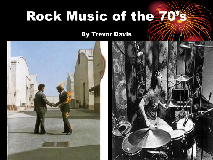 Rock music of the 70 s by trevor davis
