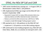 otag the nox sip call and cair1