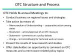 otc structure and process1