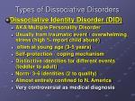 types of dissociative disorders1