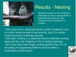 results nesting