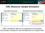 owl resource sample simulation1
