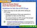 what to know about over the counter drugs1