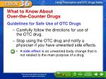 what to know about over the counter drugs2