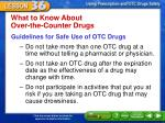 what to know about over the counter drugs3