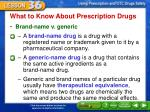 what to know about prescription drugs1