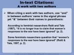 in text citations a work with two authors