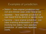examples of jurisdiction