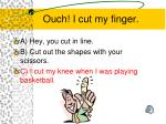 ouch i cut my finger1