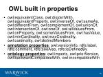 owl built in properties