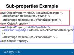 sub properties example