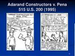 adarand constructors v pena 515 u s 200 1995