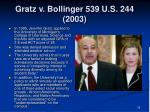 gratz v bollinger 539 u s 244 20032