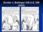 grutter v bollinger 539 u s 306 2003