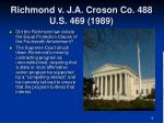 richmond v j a croson co 488 u s 469 19891