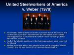 united steelworkers of america v weber 1979