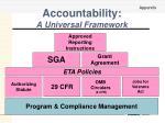 accountability a universal framework