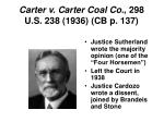 carter v carter coal co 298 u s 238 1936 cb p 137