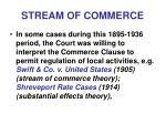 stream of commerce