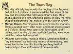 the town day