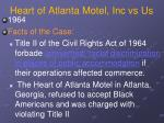 heart of atlanta motel inc vs us