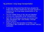 hg pollution long range transportation