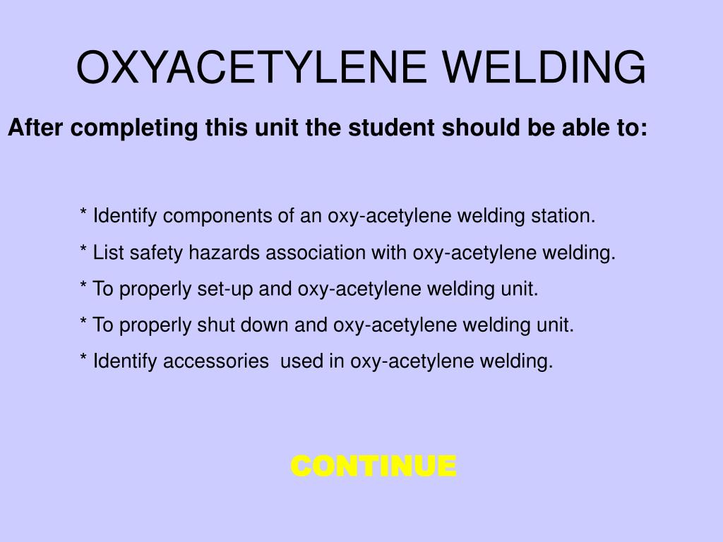Ppt Oxyacetylene Welding Powerpoint Presentation Id4557292 Oxy Acetylene Equipment Diagram N