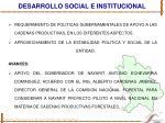 desarrollo social e institucional1