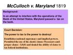 mcculloch v maryland 1819