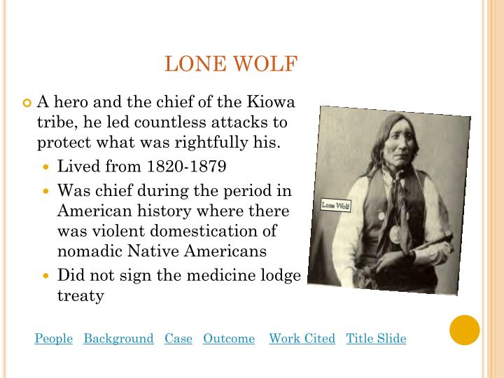 lone wolf vs. hitchcock essays Apush notes: conquering a continent 1861-1877  the supreme court further eroded tribal power in lone wolf v hitchcock get your custom essay sample.