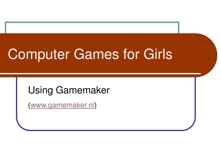 computer games for girls n.