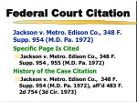federal court citation1