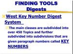 finding tools digests1