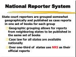 national reporter system3