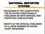national reporter system4