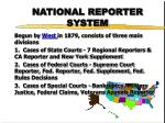 national reporter system6