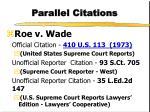 parallel citations