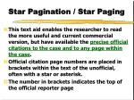 star pagination star paging1
