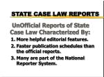 state case law reports1