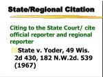 state regional citation