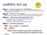 xxxedits oct zip