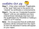 xxxedits oct zip2