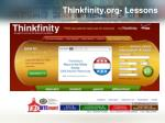 thinkfinity org lessons